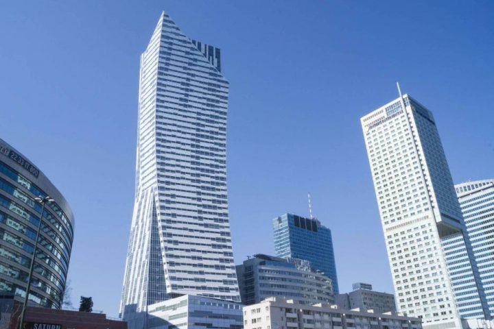 Zlota 44 - Residential building