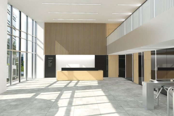 (English) Trinity Park, Main Reception Area